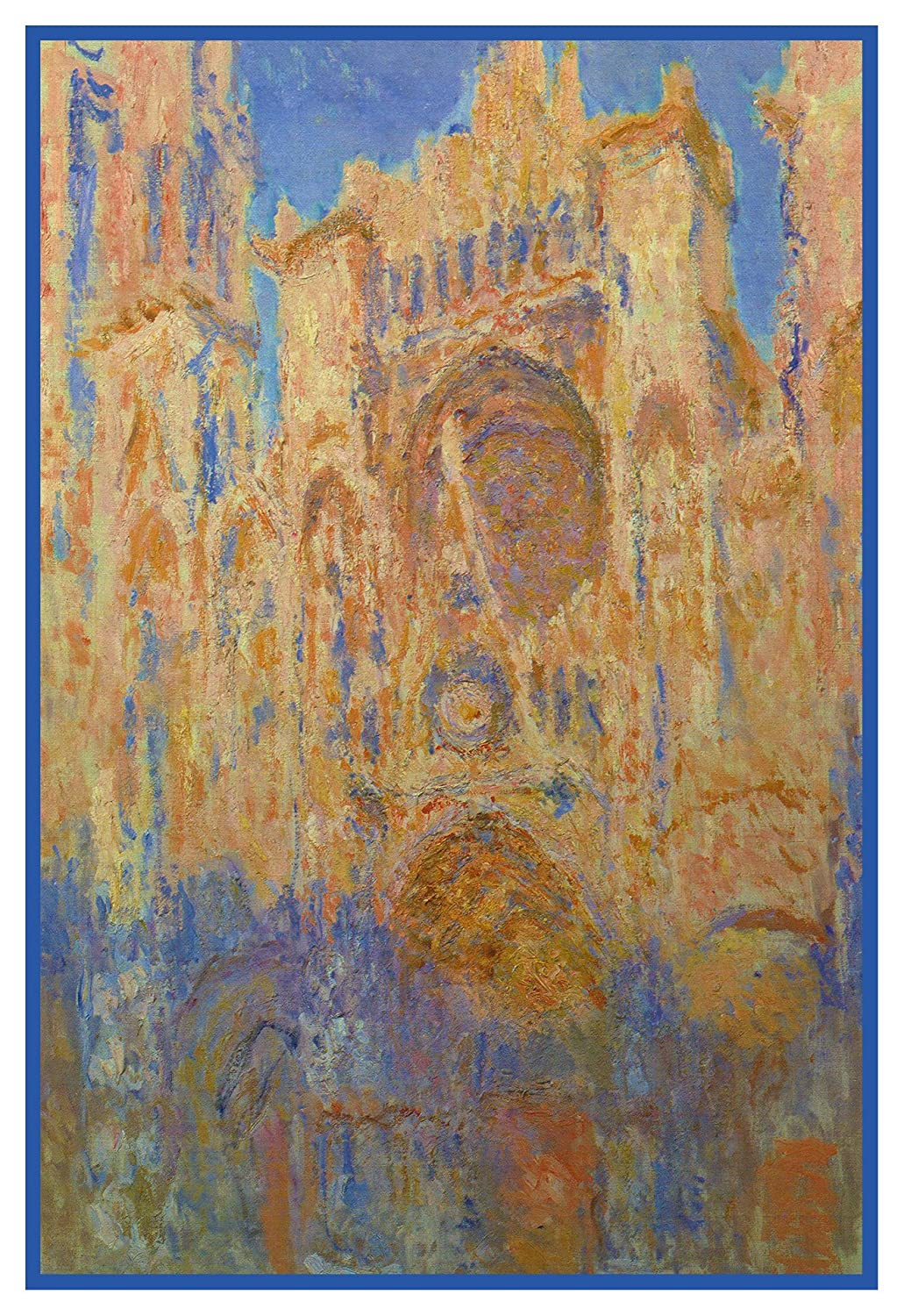 Orenco Originals Rouen Cathedral France by Claude Monet Counted Cross Stitch Pattern