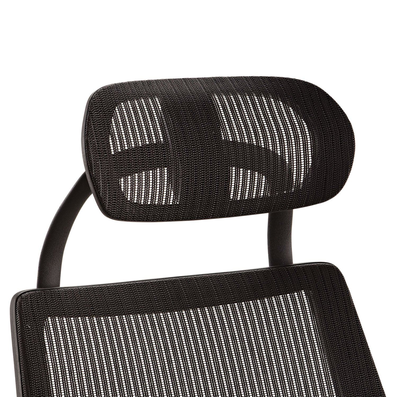 Alera ALEKEHR18 Headrest for K8 Chair, Mesh, Black by Alera (Image #1)