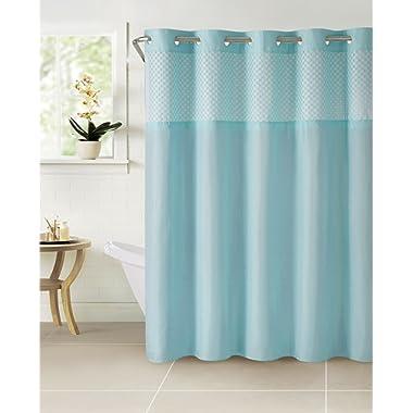 Hookless Bahamas Eyelets Shower Curtain