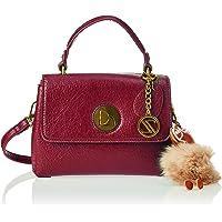 Zeneve London Womens Satchel Bag, Red - 1191832101