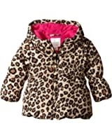 The Children's Place Baby-Girls Leopard Puffer