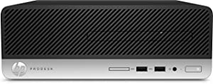 HP Business Desktop ProDesk 400 G4 Desktop Computer Intel Core i3-6100 3.7GHz 4GB DDR4 SDRAM 500GB HDD Windows 7 Professional 64-bit (English) upgradable to Windows 10 Pro Model 1KC06UT#ABA