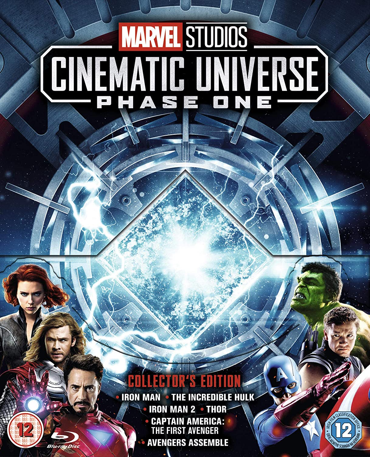 Marvel Cinematic Universe Phase 1 [Italia] [Blu-ray]: Amazon.es ...