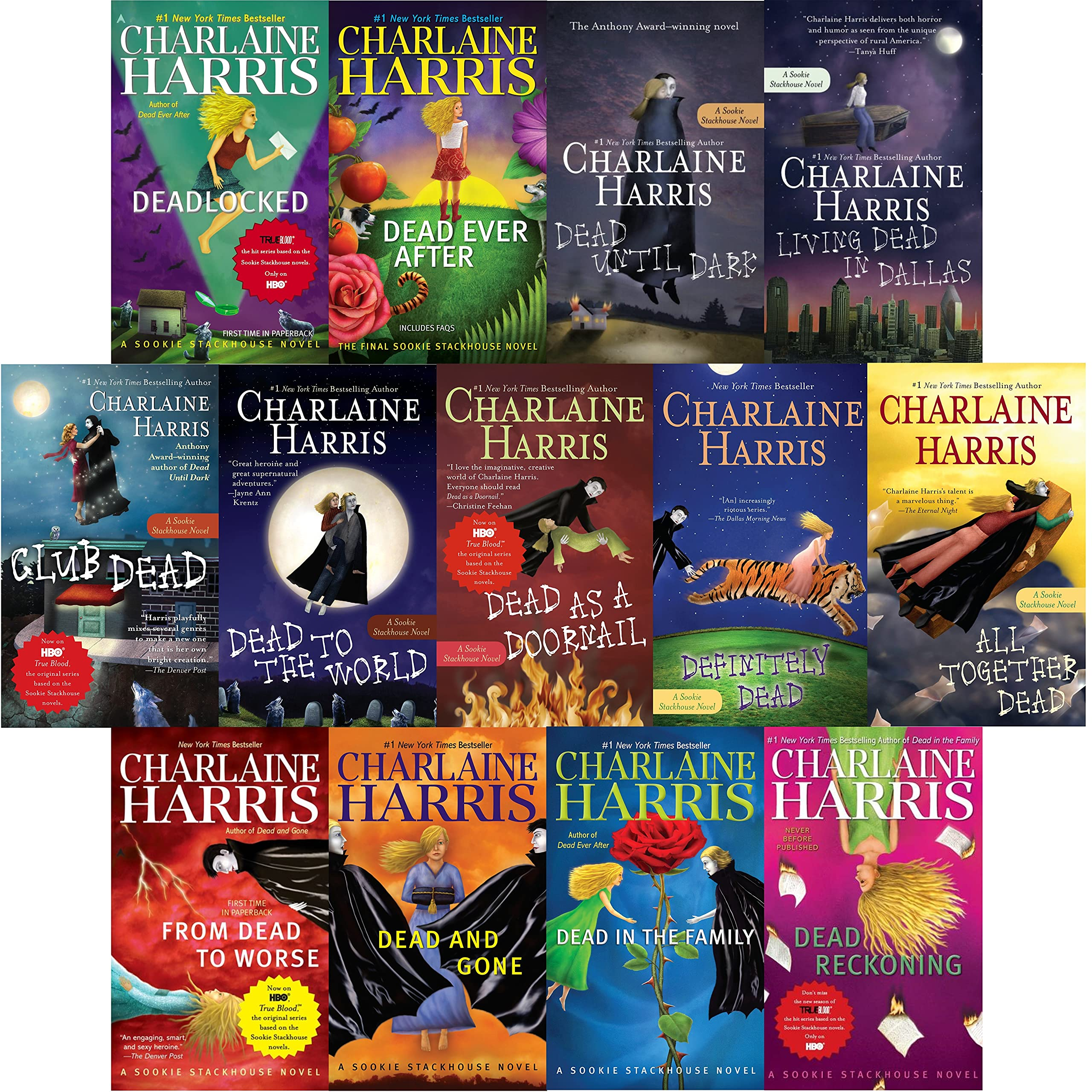 Charlaine Harris's Sookie Stackhouse / True Blood (Complete Series: Books  1-13): 0722512567542: Amazon.com: Books