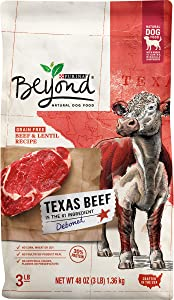 Purina Beyond Grain Free, Natural, High Protein Adult Dry Dog Food