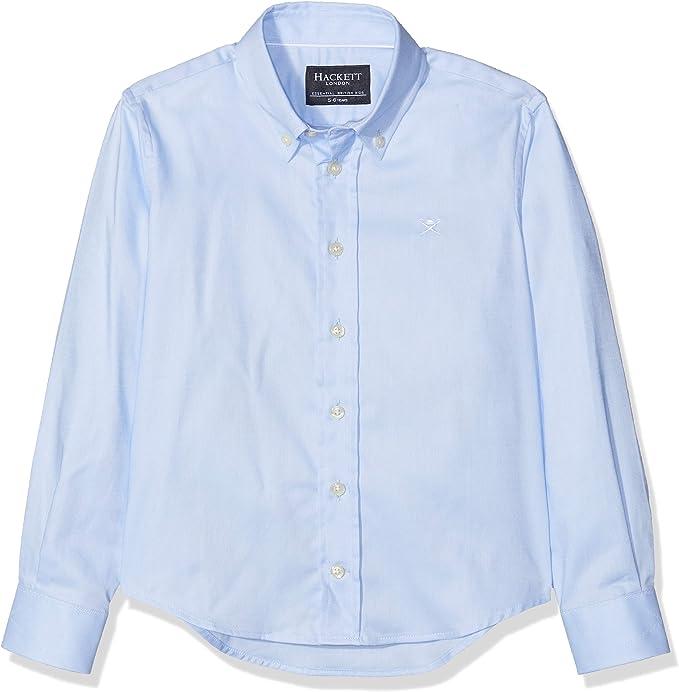 Hackett London Plain Oxford Shirt Camisa para Niños: Amazon.es: Ropa y accesorios