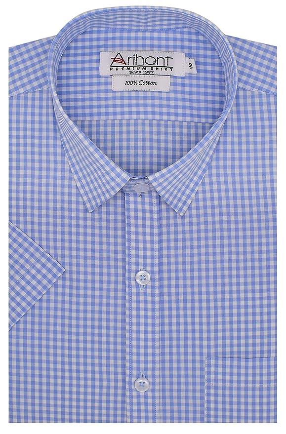Arihant Men's Formal Shirt Formal Shirts at amazon