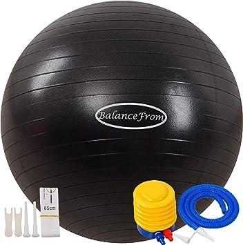 Amazon.com: BalanceFrom - Pelota de yoga, antipinchazos y ...