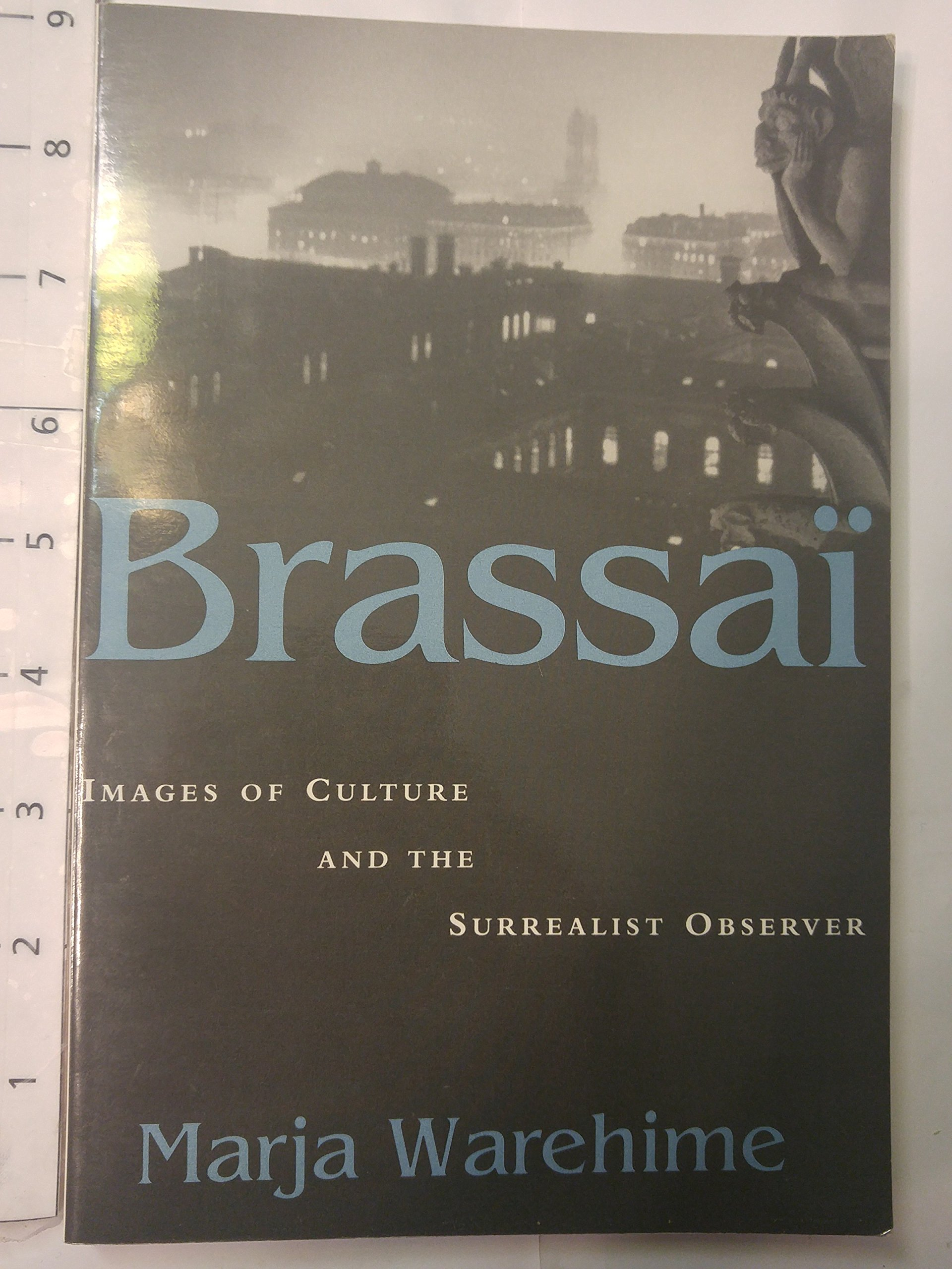 Brassai: Images of Culture and the Surrealist Observer (Modernist Studies)