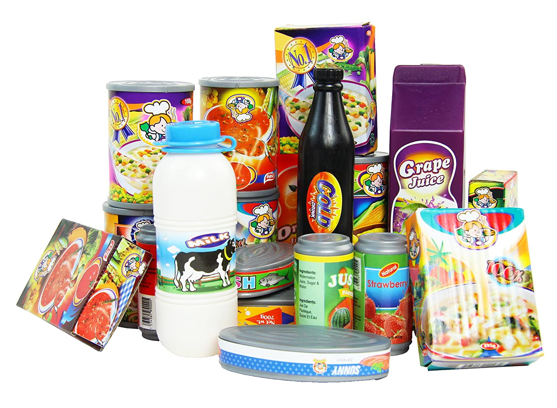 Kinder Kaufladen Spielzeug Lebensmittel Zubehör Set 28 Teile Laden ...