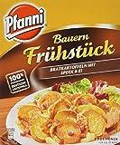 Pfanni Kartoffelfertiggericht Bauern Frühstück Bratkrtoffeln mit Speck & Ei 2 Portionen, 5er Pack (5 x 400g)