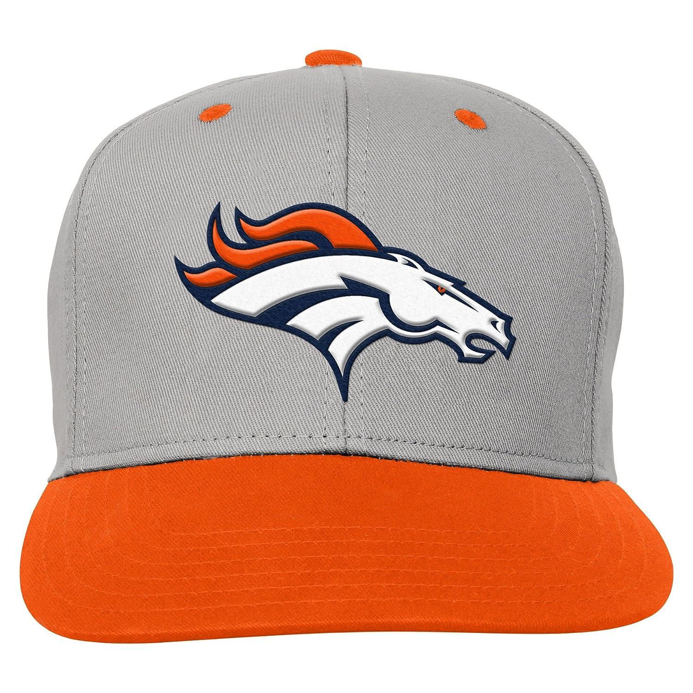 Denver Broncos Orange NFL Toddler Team Flatbrim Snapback Hat 1 Size