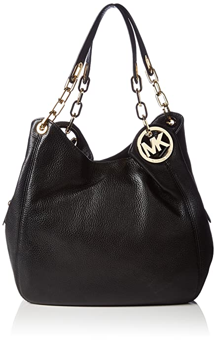 Michael Kors Fulton Large Leather Shoulder Bag