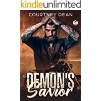 Demon's Savior: A Bad Boy Biker Romance (Demons United MC Romance Book 1)