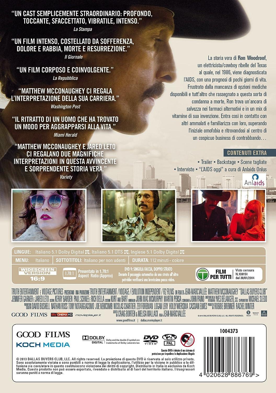 Dallas Buyers Club (DVD) [Italia]: Amazon.es: Jennifer Garner ...