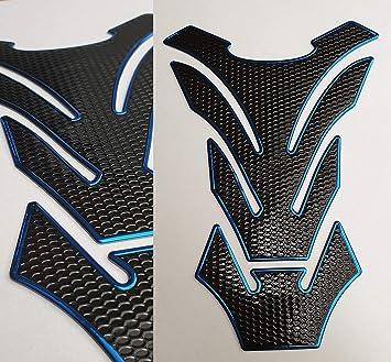 Details Zu Tankpad Tankschutz Motorrad Carbon Optik Schwarz Blau Universal Special Auto