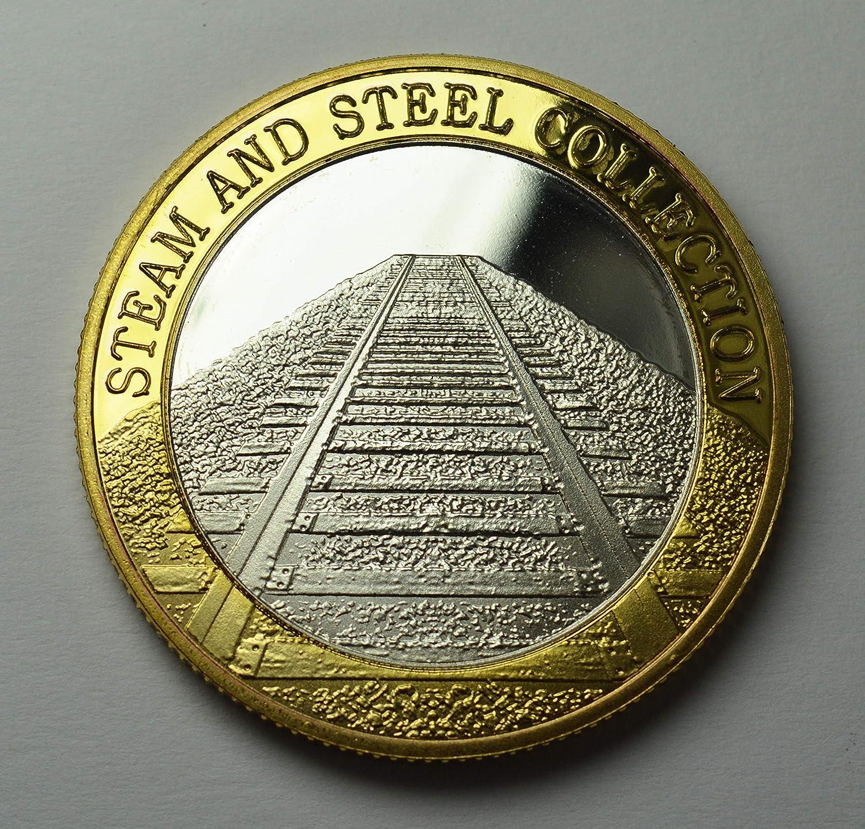Historic Steam Railway Locomaotive//Engine//Train The Commemorative Coin Company THE FLYING SCOTSMAN Fine Silver /& 24ct Gold Dual Metal Commemorative