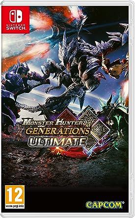 Monster Hunter Generations Ultimate [Importación francesa]: Amazon.es: Videojuegos