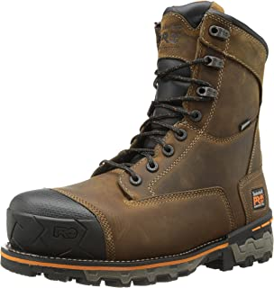 38c8e666ceca Timberland PRO Men s 8 Inch Boondock Composite-Toe Waterproof Work and Hunt  Boot