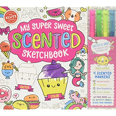 Klutz My Super Sweet Scented Sketchbook, Activity/Craft Kit: Editors of Klutz: Toys & Games