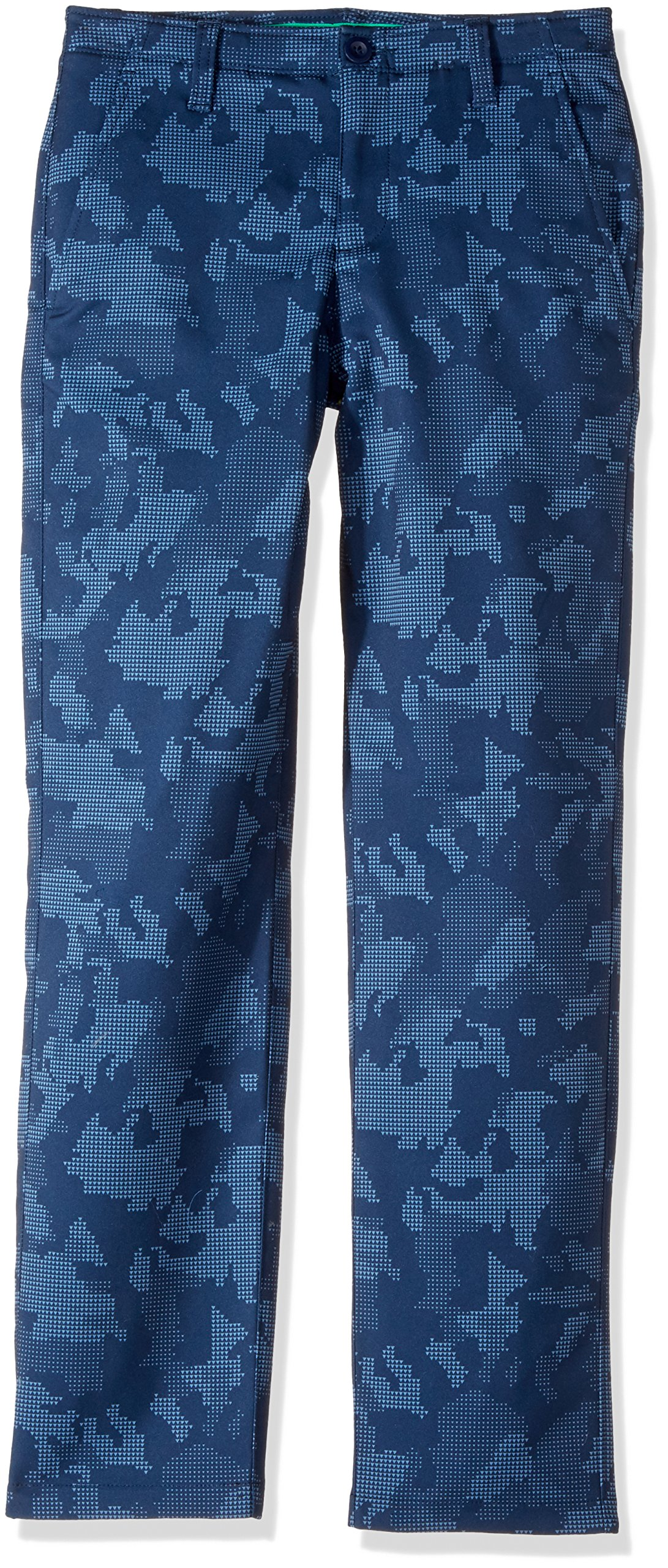 Under Armour Boys' Match Play Printed Pants,Academy (408)/Academy, 8