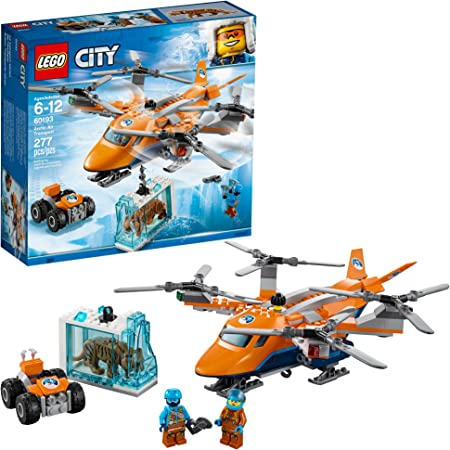 LEGO City Arctic Air Transport 60193 Building Kit (277 Pieces) (Discontinued by Manufacturer)