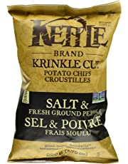 Kettle Chips Krinkle Salt and Pepper Chips, 220 Gram