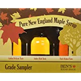 Ben's sugar shack New England Grading Pure Maple Syrup, 1.7 oz, Set of 3