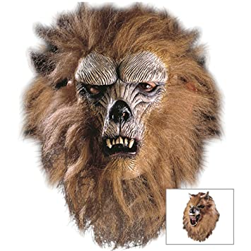 WIDMANN Máscara para disfraz de adulto lobo (4578W)