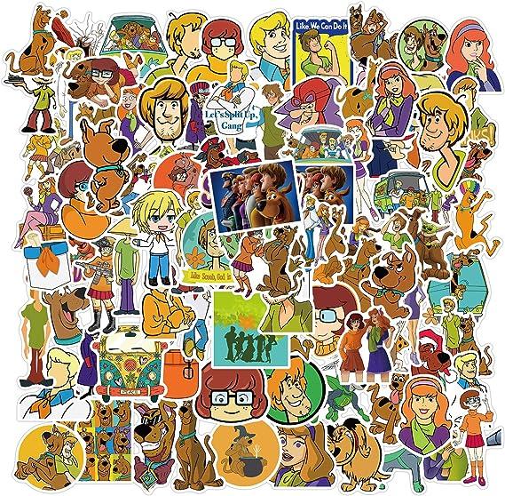 ZHUANG Scoob_y Doo Stickers