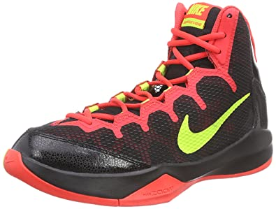 competitive price b4a92 2b279 Nike Zoom Without A Doubt, Chaussures de Basketball Homme, Noir (Black Volt