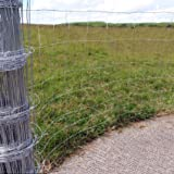 Livestock Stock Fence M8/100/15 50m Long 1m High Galvanised
