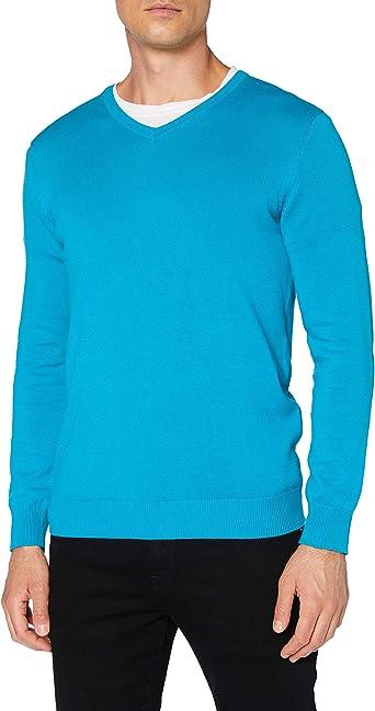 Cortefiel Pico Heather Camiseta para Hombre