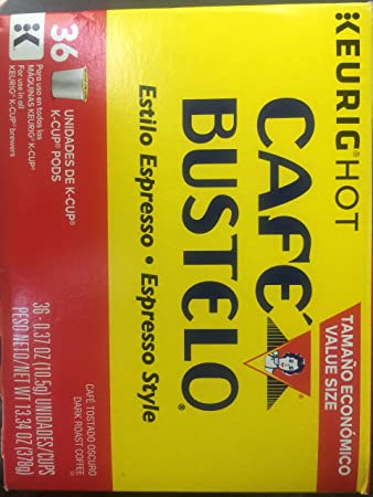 Image Unavailable. Image not available for. Color: Café bustelo espresso ...