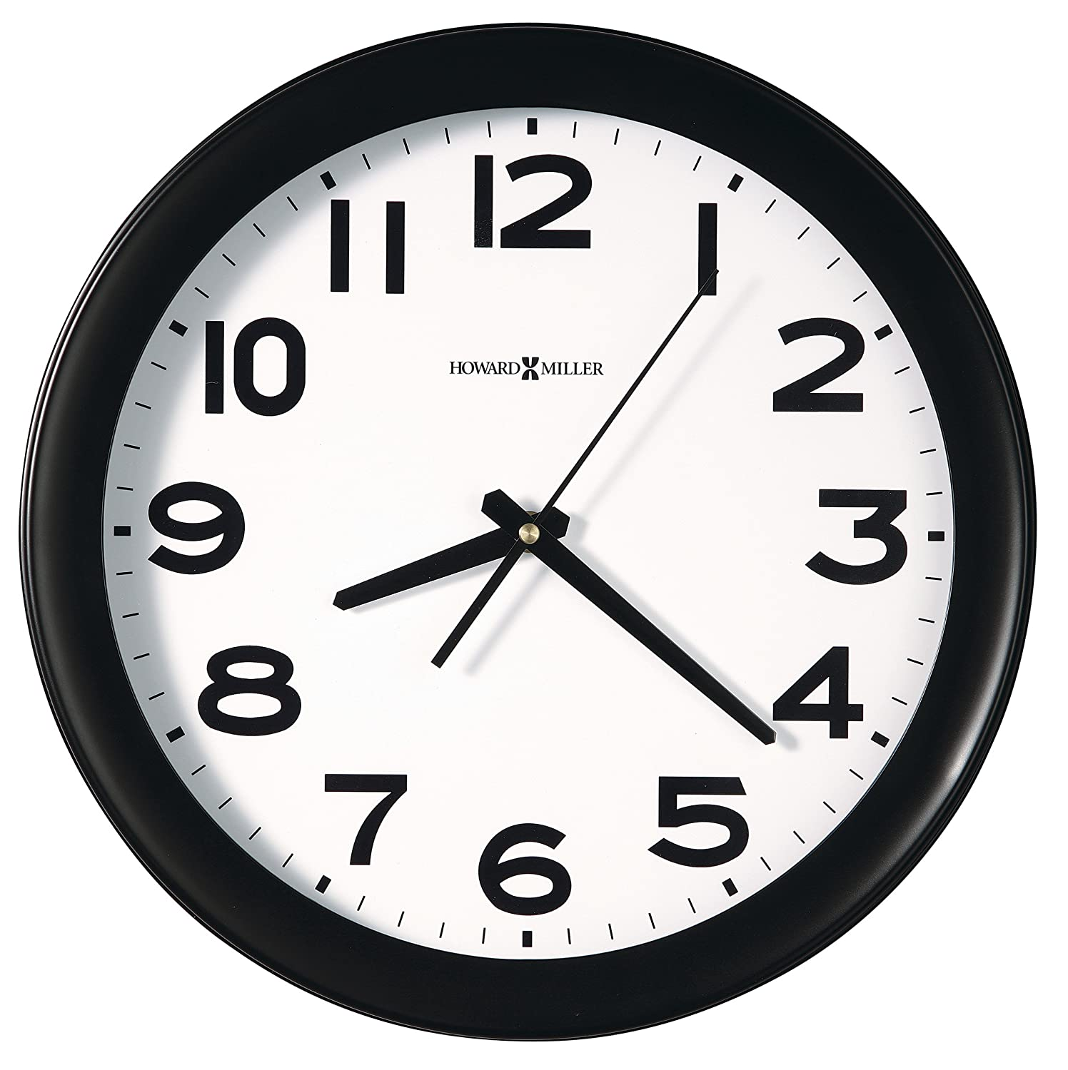 Amazon howard miller easy kenwick wall clock 13 12 black amazon howard miller easy kenwick wall clock 13 12 black 625485 office products amipublicfo Choice Image