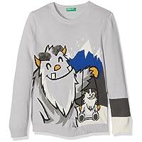 United Colors of Benetton Boy's Sweater L/S Sweatshirt