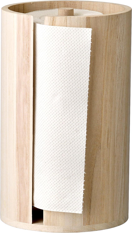 Bloomingville Wood Paper Towel Holder, Brown by Bloomingville