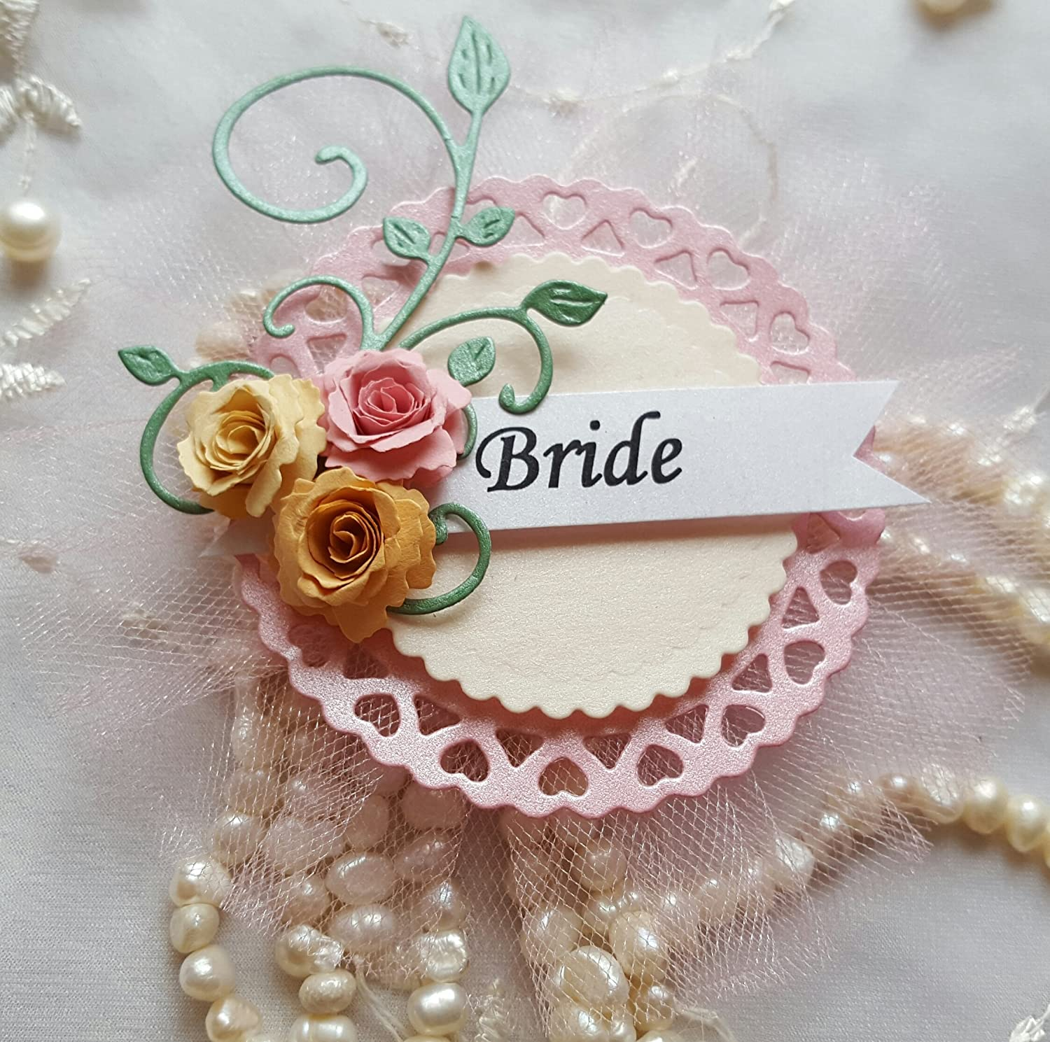 Bride to Be Badge Pin Personalized Future Mrs Corsage Bachelorette Hen Party Gift Pins Bridal Shower, Wedding, Mommy to Be Bachelorette Bridesmaid Favours Engagement Unique Gift Keepsakes