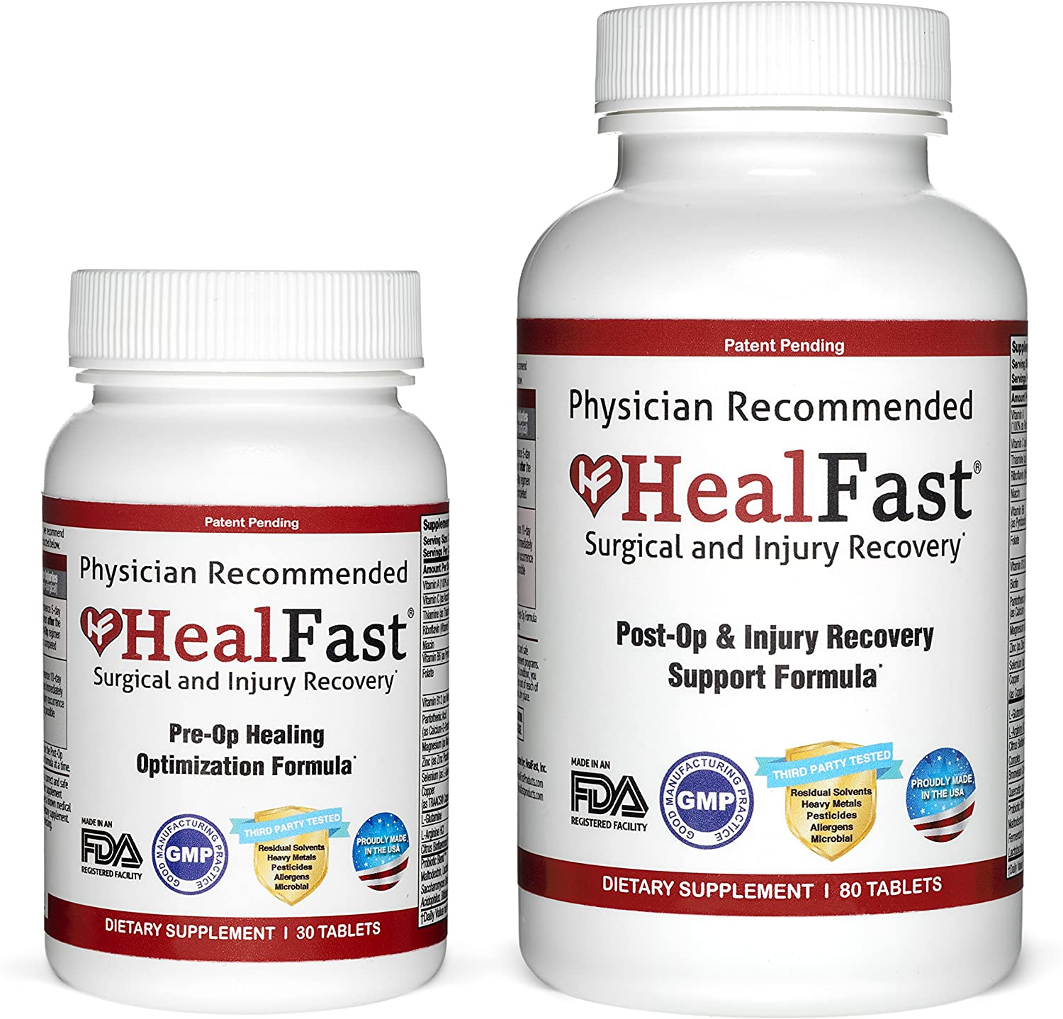 HealFast Complete Surgery Injury Recovery Supplement