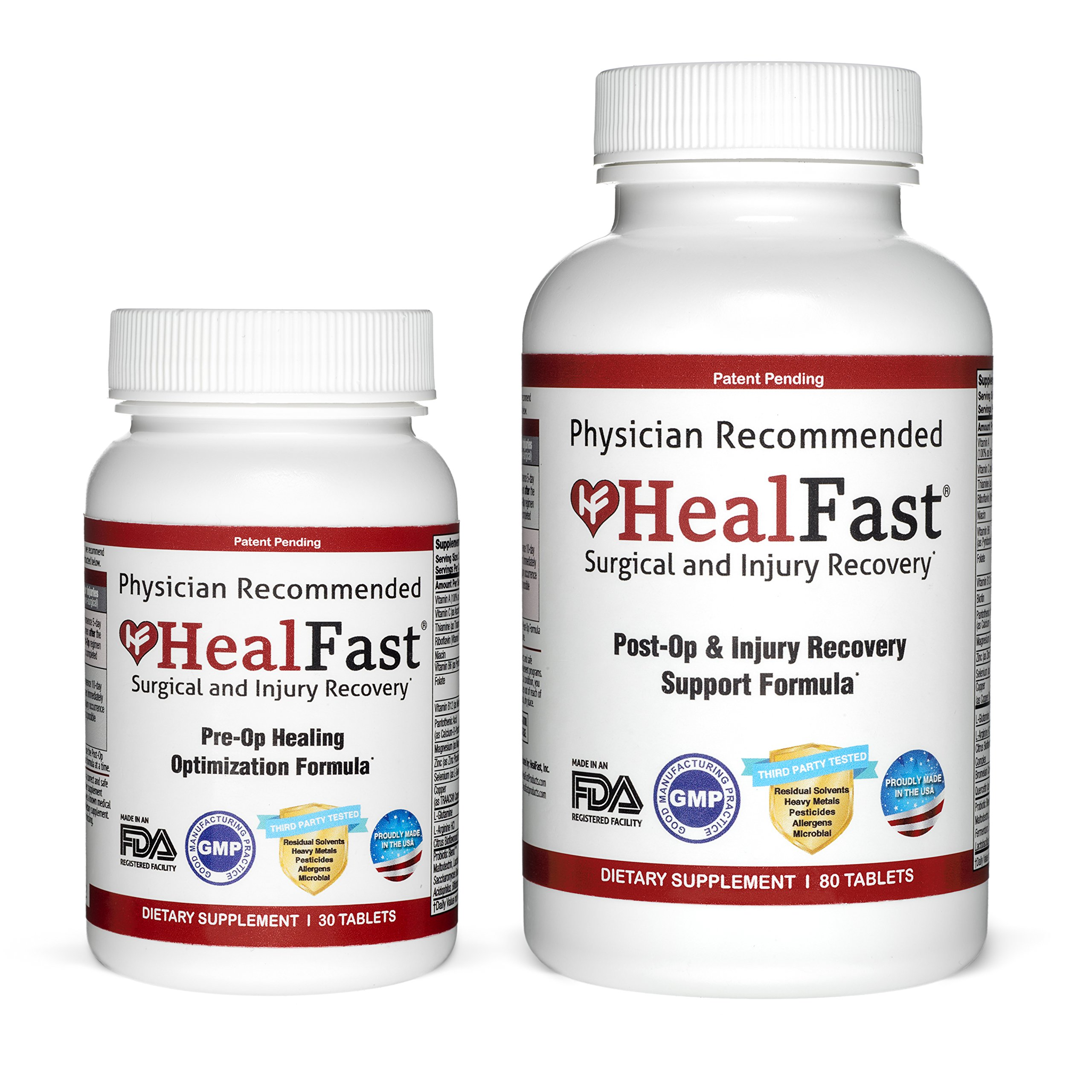 HealFast Complete Surgery & Injury Recovery Supplement by HealFast