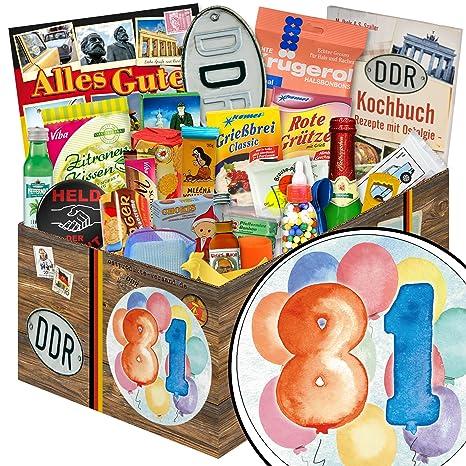 Geschenk Zum Geburtstag 81 24tlg Box Geschenke 81