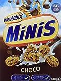 Weetabix Minis Choco 450 gr Cereeal De Treigo Entero Con Chocolate