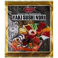 Akishima Yaki Sushi Nori, Grade A, 10 Count