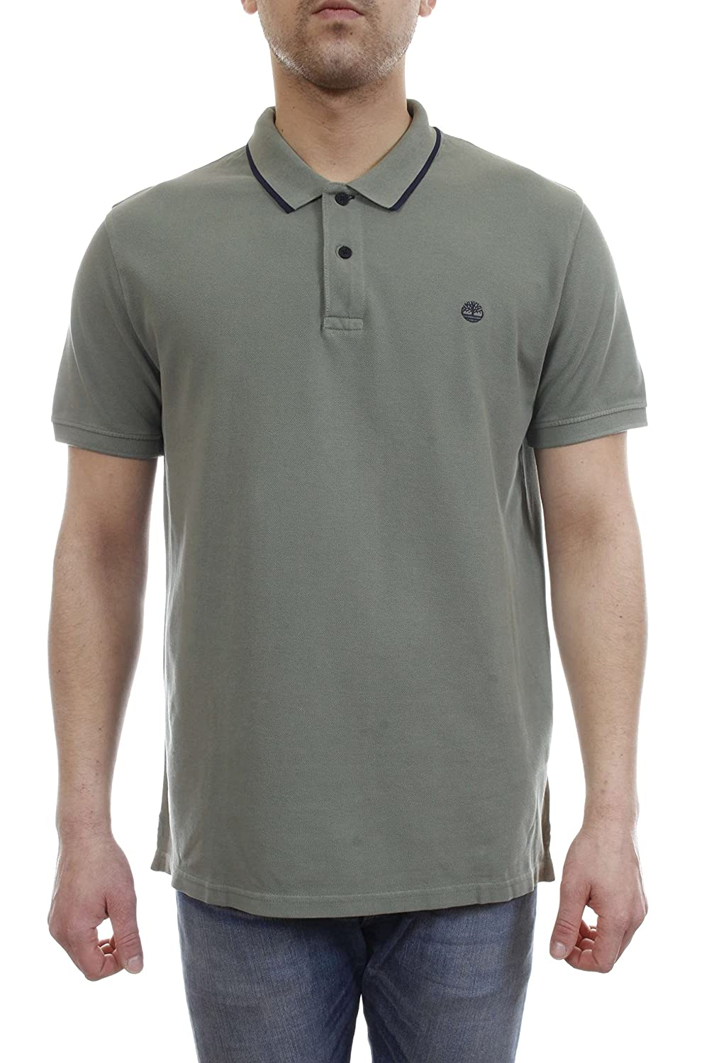 Timberland SS GD Pque Polo Slim Duck Green: Amazon.es: Ropa y ...