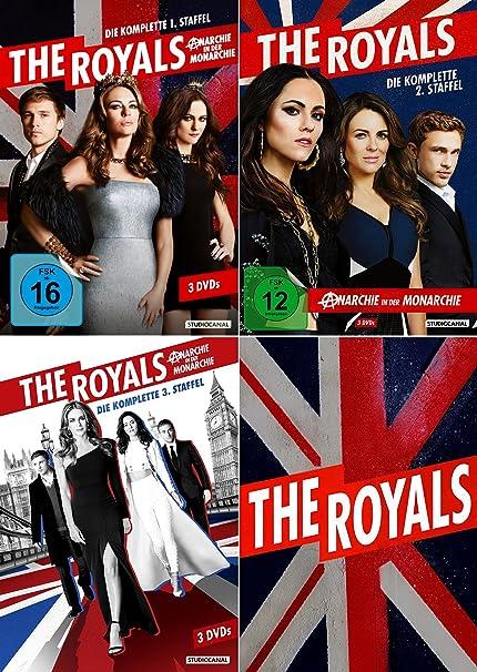 The Royals - Die komplette 1. + 2. + 3. Staffel (9-DVD)