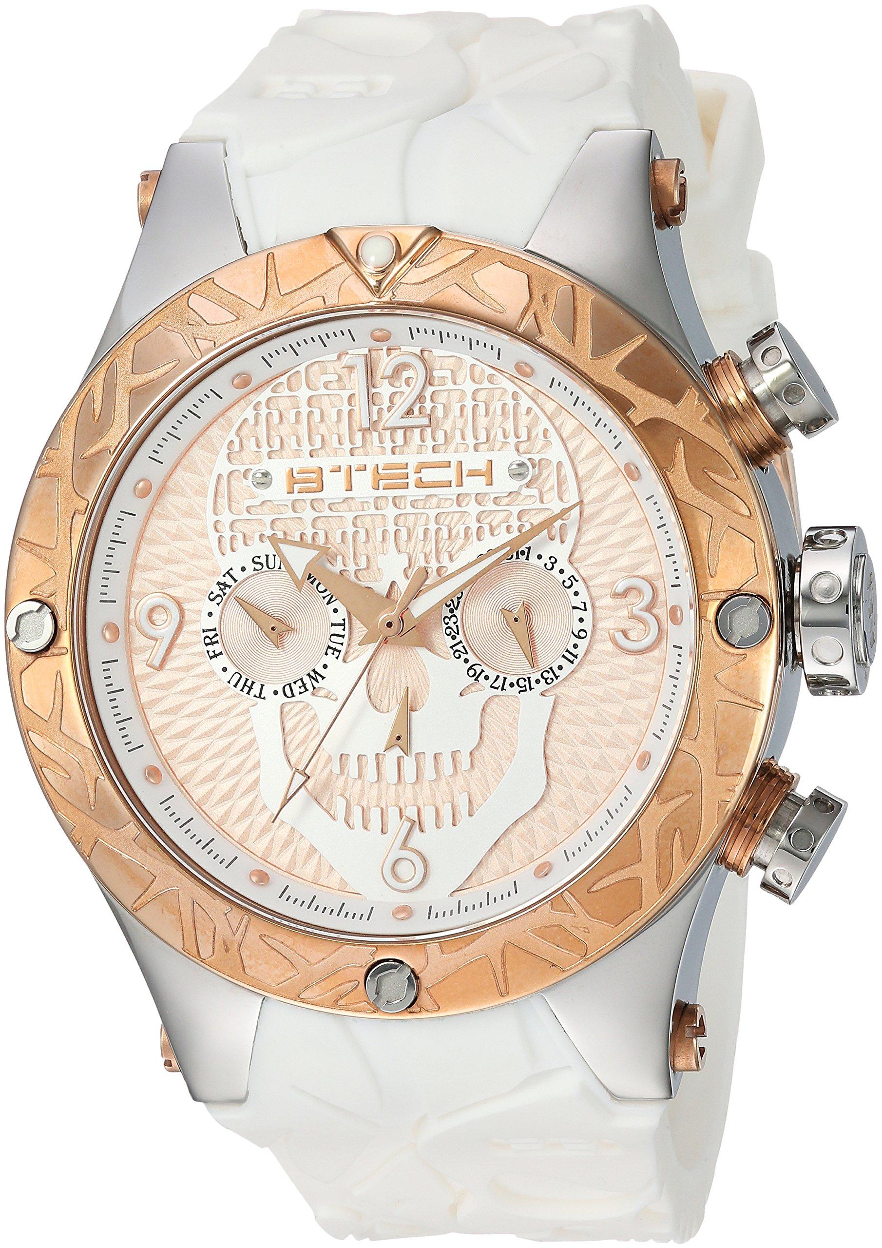 BTECH BT-CA-613-01 Unisex Tattoo Calavera, White