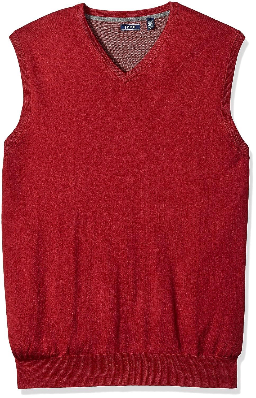 Izod Mens Big-Tall Big and Tall Fine Gauge Solid Sweater Vest IZOD Men' s Sportswear 45X2741