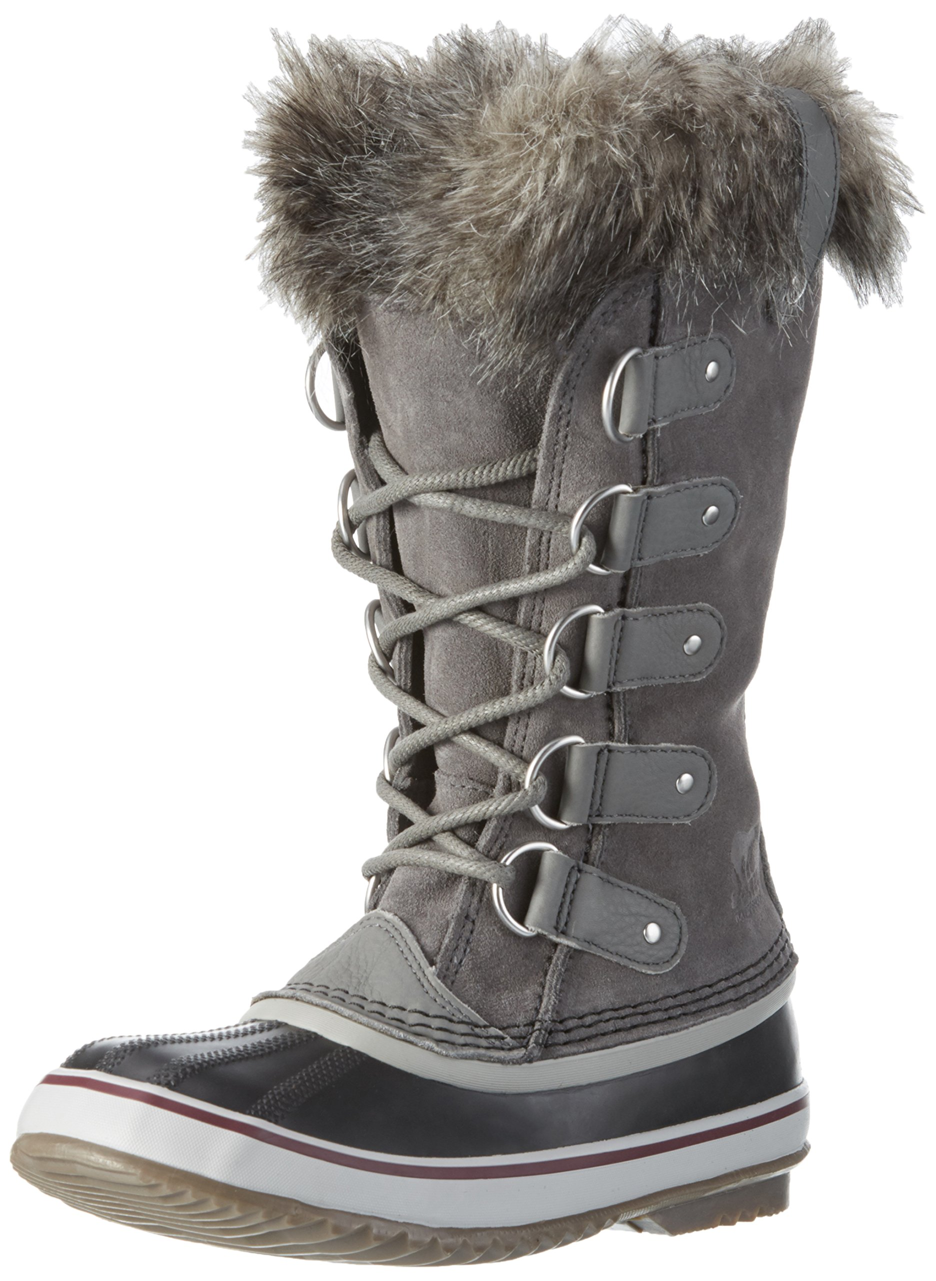 SOREL Women's Joan Of Arctic Boot,Quarry/Black,8 B(M) US