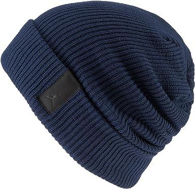 ef26b57e254b Jordan Gorro de lana para hombre, azul marino: Amazon.es: Deportes y ...