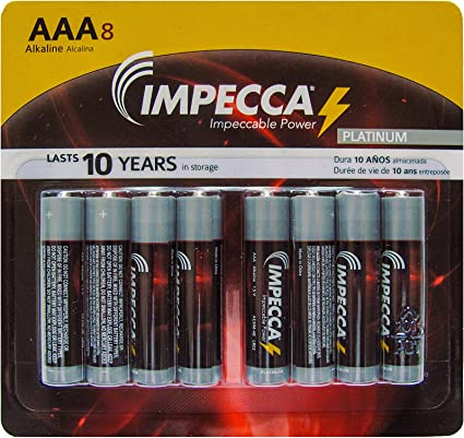 12 Pack High Performance C Cell Alkaline Battery 1.5 Volt LR14 Size C Alkaline Batteries for Everyday Use IMPECCA C Batteries 12 Count
